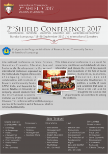 Shield Conference 2017 Leaflet Hal 1