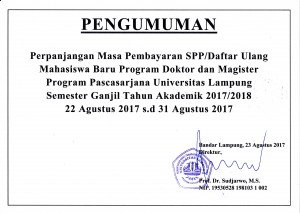 perpanjangan registrasi