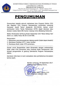 pembuatan KTM & jaket alamamter