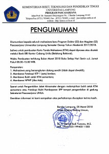 pengumuman